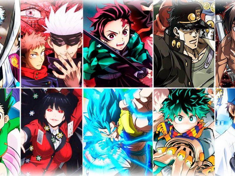 Animes más populares
